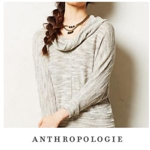 Anthropologie Porridge Turtleneck Green Sweater
